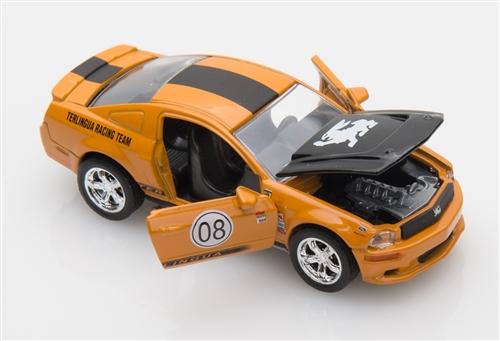 1:64 2008 Orange Shelby Terlingua Mustang Diecast