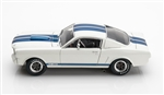1:18 1965 White Shelby Mustang GT350R Diecast