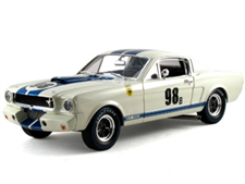 1:18 1965 White Shelby GT350R