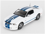 1:18 2011 White Shelby Mustang GT350 Diecast