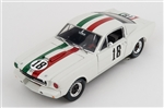 1:18 1965 #18 Mexico Shelby Mustang Diecast