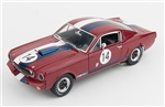 1:18 1966 Red #14 Shelby GT350R L/E Diecast