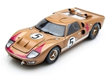 1:18 Gold Ford GT40 1966 Lemans #5