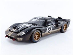 1966 Black Ford GT40  Le Mans # 2 After Race