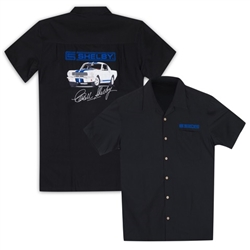 Embroidered GT350 Black Camp Shirt