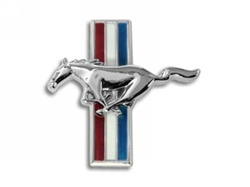 Shelby GT Running Pony Grille Emblem (2007-2008)