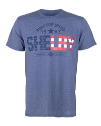 Stars and Stripes Shelby Heather Denim Tee