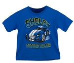 Future Shelby Racer Royal Blue Toddler Tee