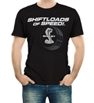Shiftloads of Speed Black Tee