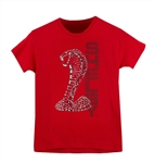 Youth Metal Super Snake Red Tee