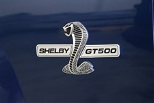Shelby GT500 Grill and Side Wing Emblem Kit