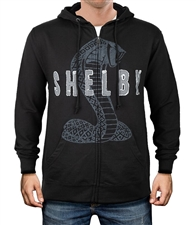 Shelby Applique Black Hoody