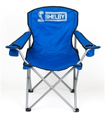 Shelby Mega Blue Folding Chair