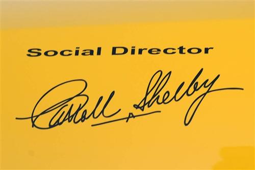 "Reissue Terlingua ""Social Director"" Signature Decal"