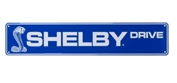 Shelby Drive Embossed Street Sign