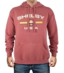 Shelby American Legacy Red Pullover Hoody