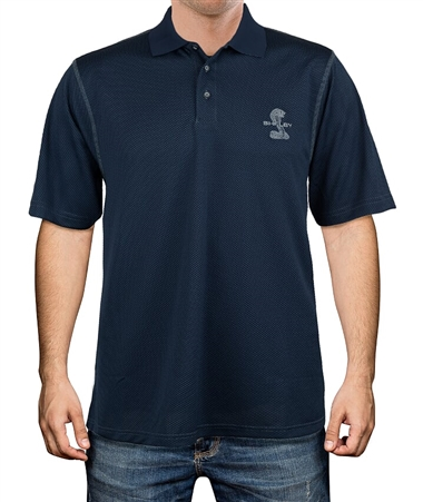 Carbon Fiber Navy Polo