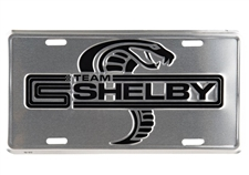Team Shelby License Plate