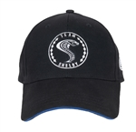 Team Shelby Black Hat with Blue Accent