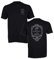 Speed Shop Skull Black Tee