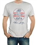 Shelby Logo Stripes Natural T-Shirt