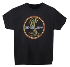 Shelby Snake Youth Neon Tee
