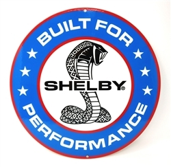 Built for Performance Metal Sign