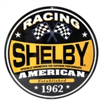 Shelby American Racing Metal Sign