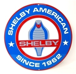 Shelby American Cobra Metal Sign