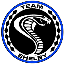 Team Shelby Metal Sign