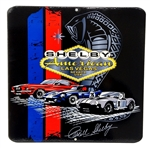 Shelby Las Vegas Vintage Cars Metal Sign