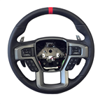 2015-2018 F-150 Raptor Performance Steering Wheel Kit with the Red sight-line