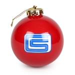 2015 Foundation Holiday Ornament - Shiny Red