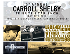 Carroll Shelby 2017 Tribute Poster