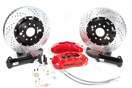 Baer Shelby Pro Plus Brake System: Rear (2005-2014)