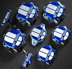 Shelby GT500 Engine Cap Set (2007-2014)