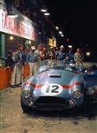 1964 Sebring Shelby Cobra #12 Canvas Art