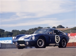 1964 Shelby Daytona Coupe #9 Framed Print with Double Mat
