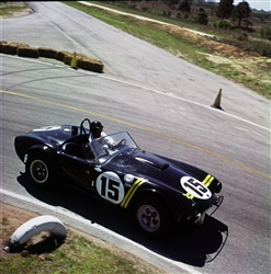 1963 Sebring #15 with Dan Gurney Archival Paper