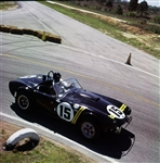 1963 Sebring #15 with Dan Gurney Canvas Art