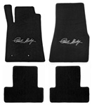 Shelby Heavy Plush Carroll Signature Four Piece Floor Mats (2013)