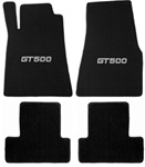Shelby Heavy Plush GT500 Four Piece Floor Mats (2013)
