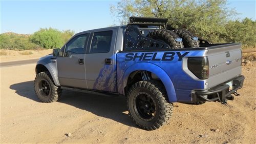 Shelby Raptor F150 Race Series Chase Rack 2009 2014