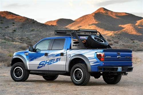 "Shelby Raptor/F150 Dimple ""R"" Rear Bumper-with sensor cutout (2009-2014)"
