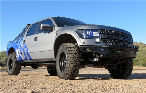 Shelby RaptorF150 Race Series R Side Steps 20092014