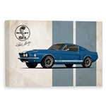 GT500 Legend Canvas Art