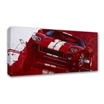 Red GT Canvas Art
