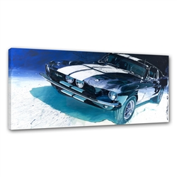 Moonlight GT500 Canvas Art