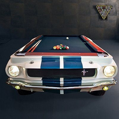 Shelby GT Pool Table - Car pool table