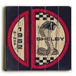1962 Shelby Snake Split Circle Wooden Sign
